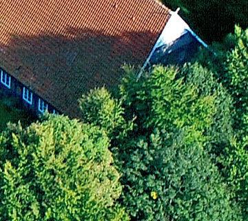 Ferienhof Roehsmann Badbergen - Ferienwohnung - Luftbild