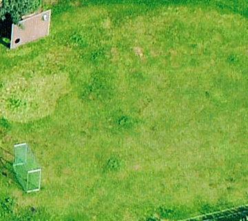 Ferienhof Roehsmann Badbergen - Fußballplatz - Luftbild