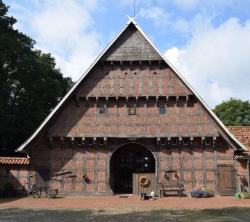 Ferienhof Roehsmann Badbergen Innenhof