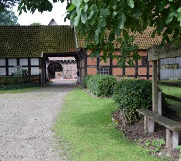 Ferienhof Roehsmann Badbergen Hofzufahrt