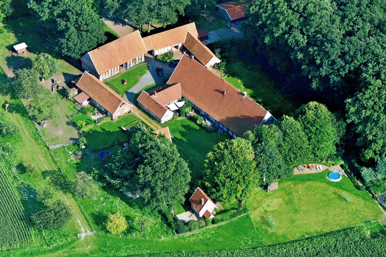 Ferienhof Roehsmann Badbergen - Luftbildaufnahme