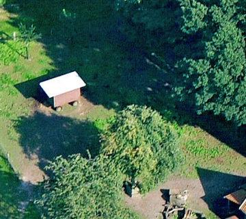 Ferienhof Roehsmann Badbergen - Bereich für die Tiere - Luftbild