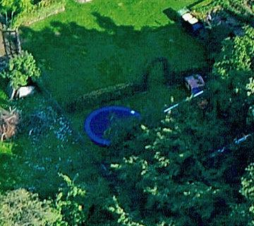 Ferienhof Roehsmann Badbergen - Trampolin - Luftbild